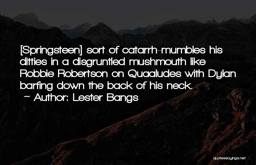 Lester Bangs Quotes 1768160