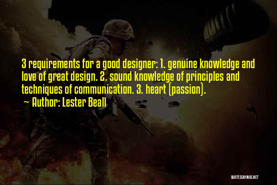 Lester Beall Quotes 1681404