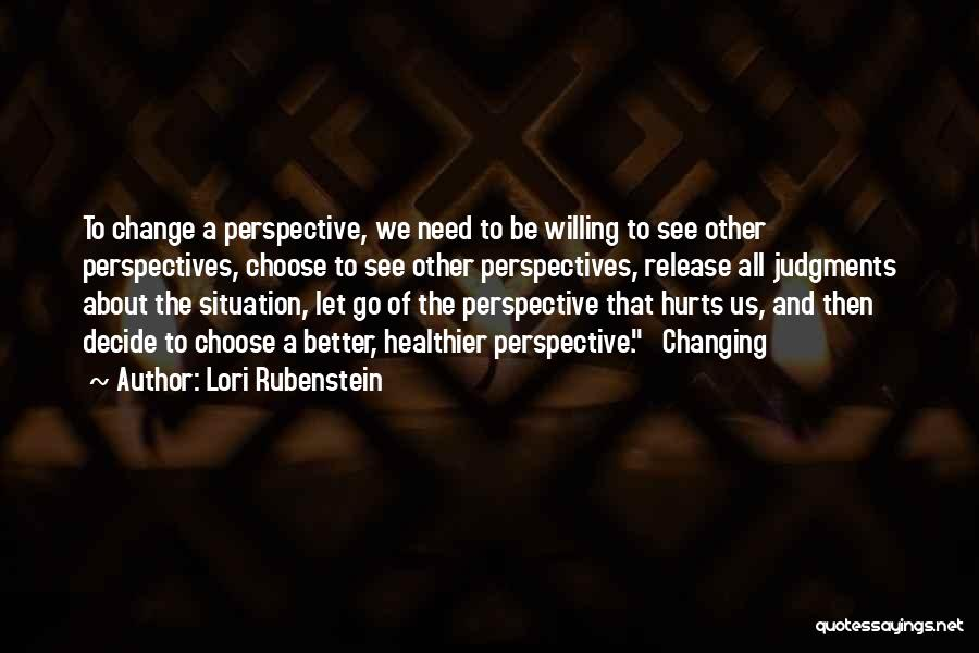 Let Go Let Go Quotes By Lori Rubenstein