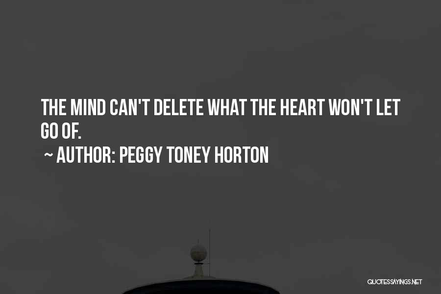 Let Go Let Go Quotes By Peggy Toney Horton