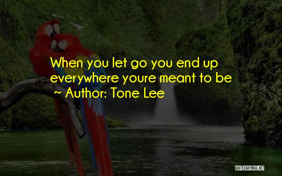Let Go Let Go Quotes By Tone Lee