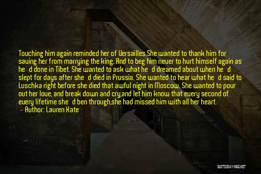 Let Her Cry Quotes By Lauren Kate