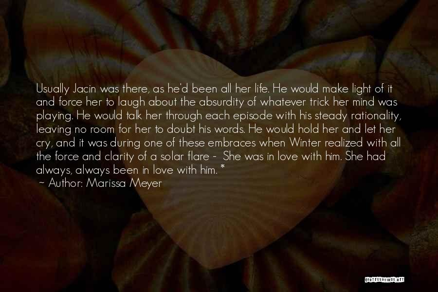 Let Her Cry Quotes By Marissa Meyer