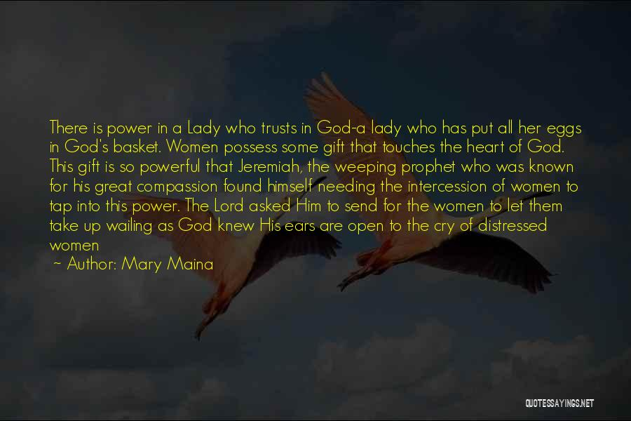 Let Her Cry Quotes By Mary Maina