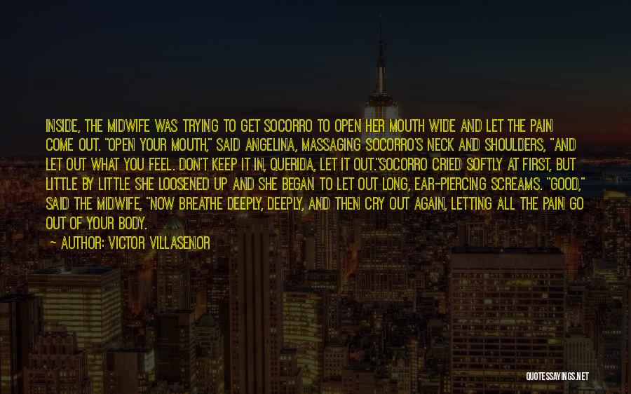 Let Her Cry Quotes By Victor Villasenor