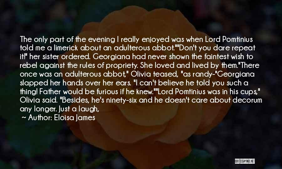 Let Her Know You Care Quotes By Eloisa James