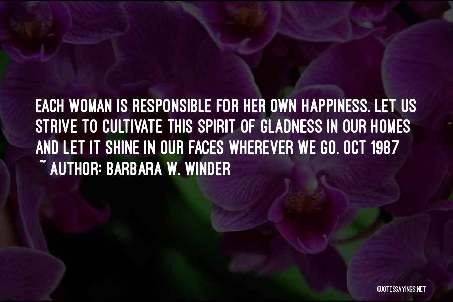 Let Her Shine Quotes By Barbara W. Winder