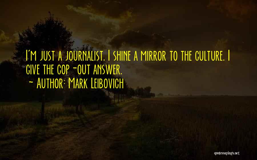 Let Her Shine Quotes By Mark Leibovich