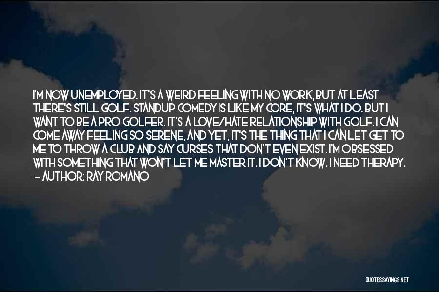 Let Me Do My Thing Quotes By Ray Romano