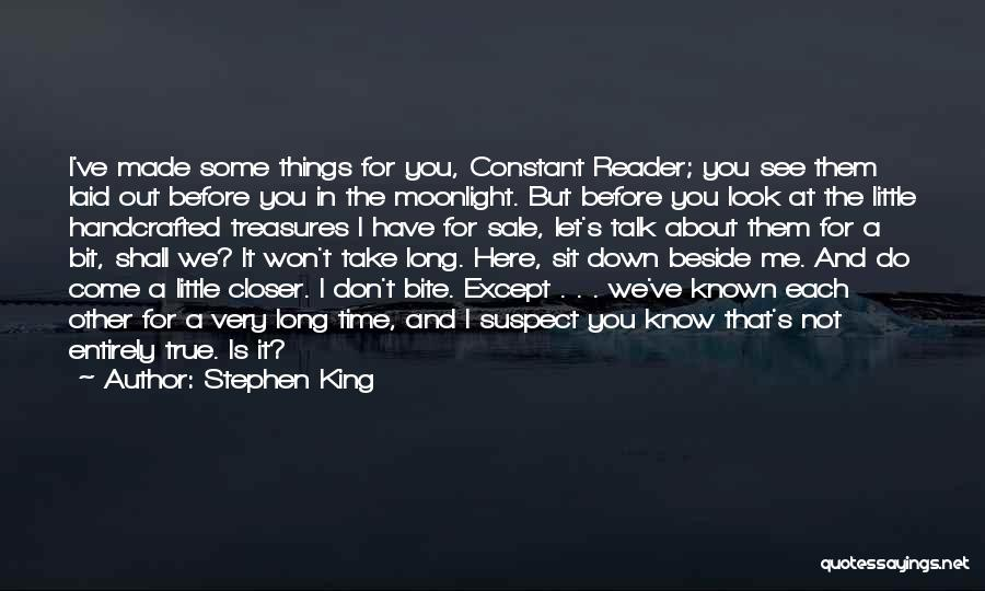 Let Me Down Quotes By Stephen King