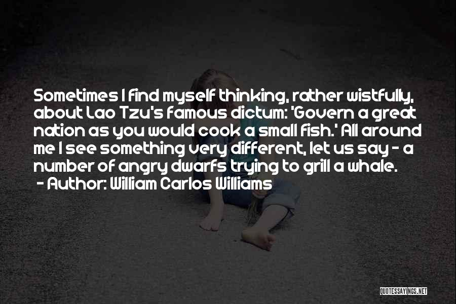 Let Me Find Myself Quotes By William Carlos Williams