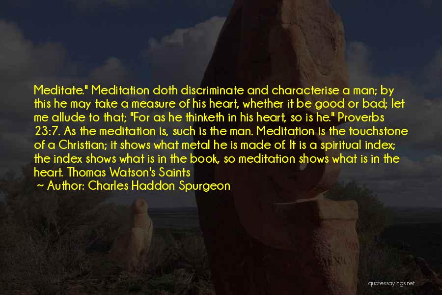 Let Me In Book Quotes By Charles Haddon Spurgeon