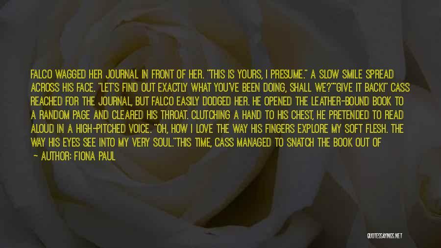 Let Me In Book Quotes By Fiona Paul