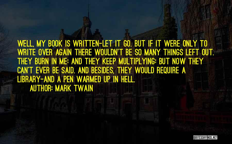 Let Me In Book Quotes By Mark Twain