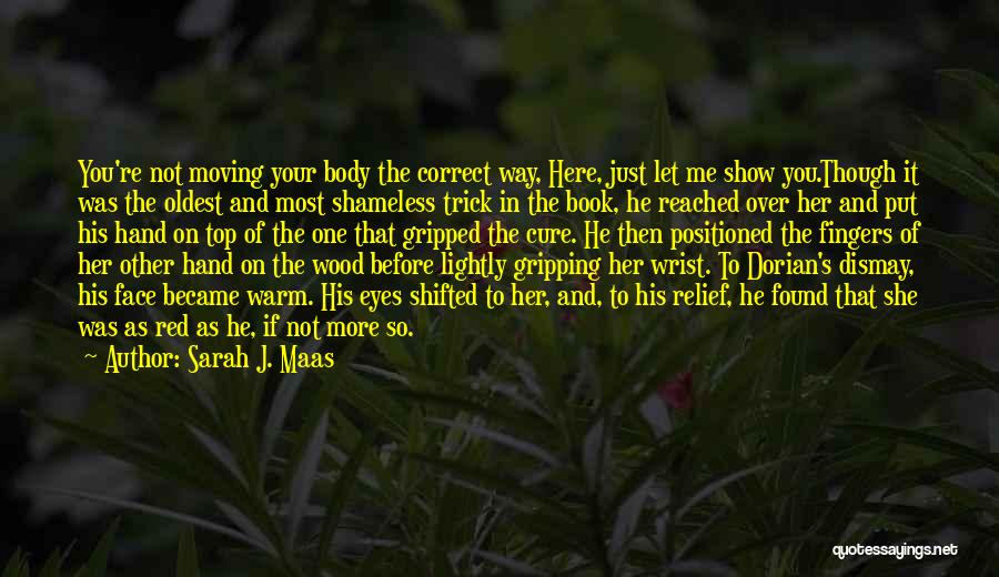 Let Me In Book Quotes By Sarah J. Maas