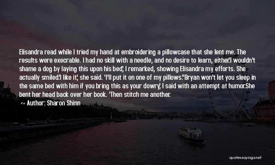 Let Me In Book Quotes By Sharon Shinn