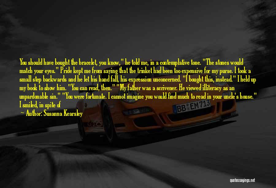 Let Me In Book Quotes By Susanna Kearsley