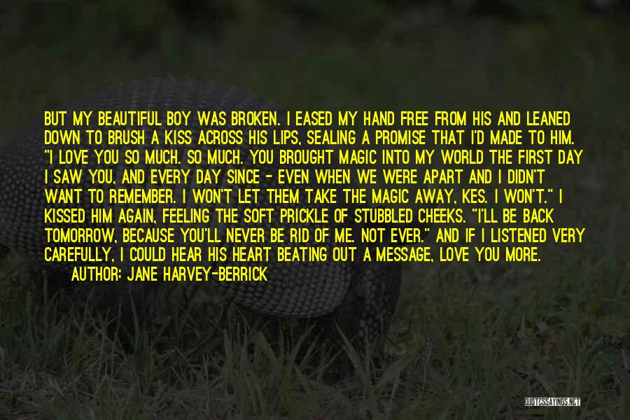 Let Me Love You Again Quotes By Jane Harvey-Berrick