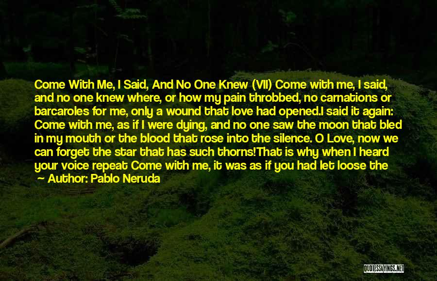 Let Me Love You Again Quotes By Pablo Neruda