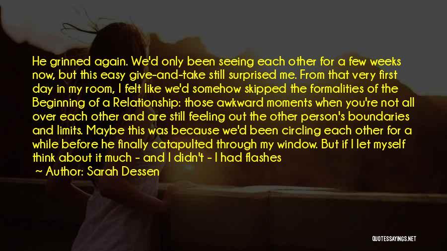 Let Me Love You Again Quotes By Sarah Dessen