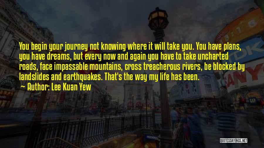 Let The Journey Begin Quotes By Lee Kuan Yew