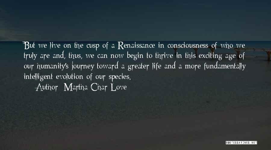 Let The Journey Begin Quotes By Martha Char Love