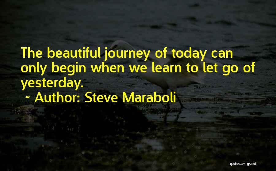Let The Journey Begin Quotes By Steve Maraboli