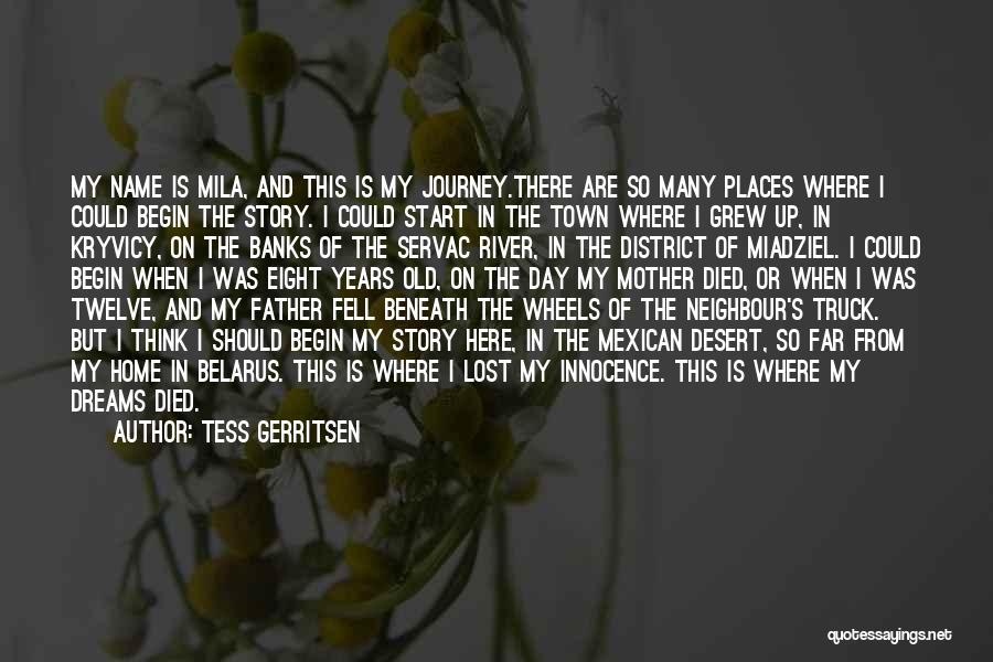 Let The Journey Begin Quotes By Tess Gerritsen