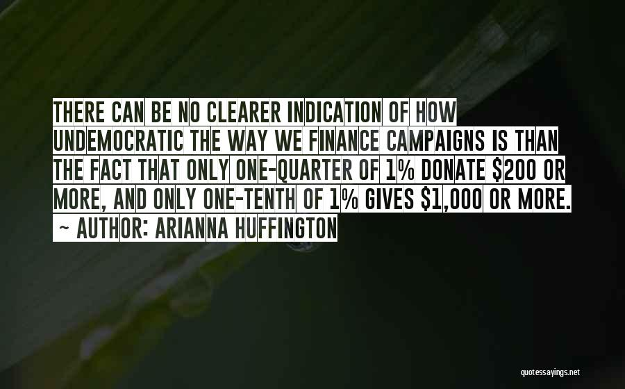 Let's Donate Quotes By Arianna Huffington
