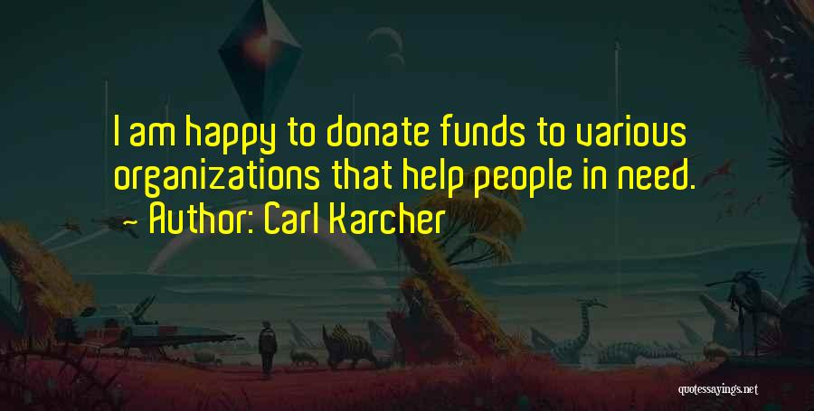 Let's Donate Quotes By Carl Karcher