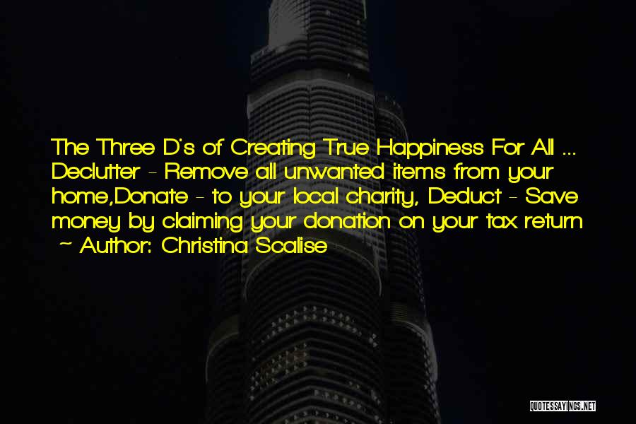 Let's Donate Quotes By Christina Scalise
