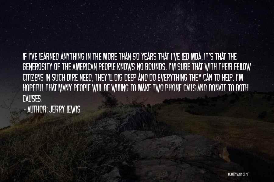 Let's Donate Quotes By Jerry Lewis
