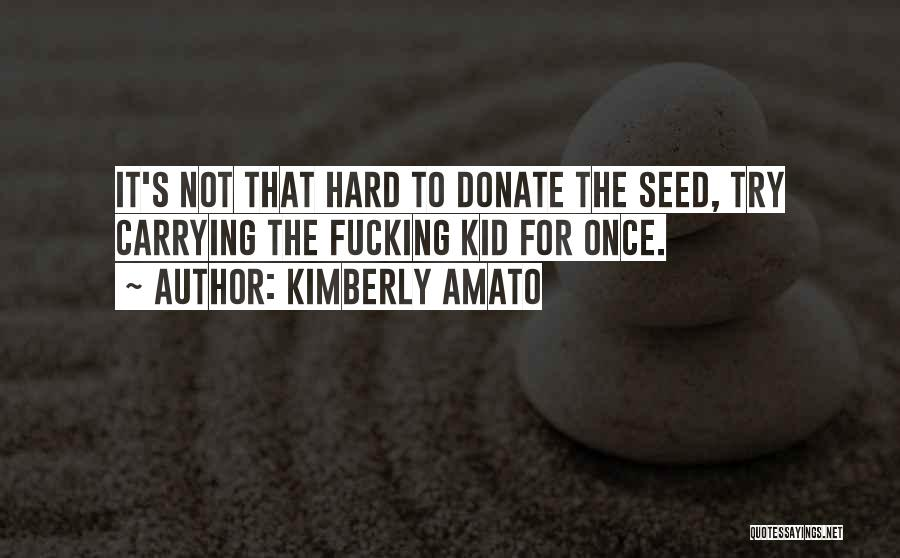 Let's Donate Quotes By Kimberly Amato