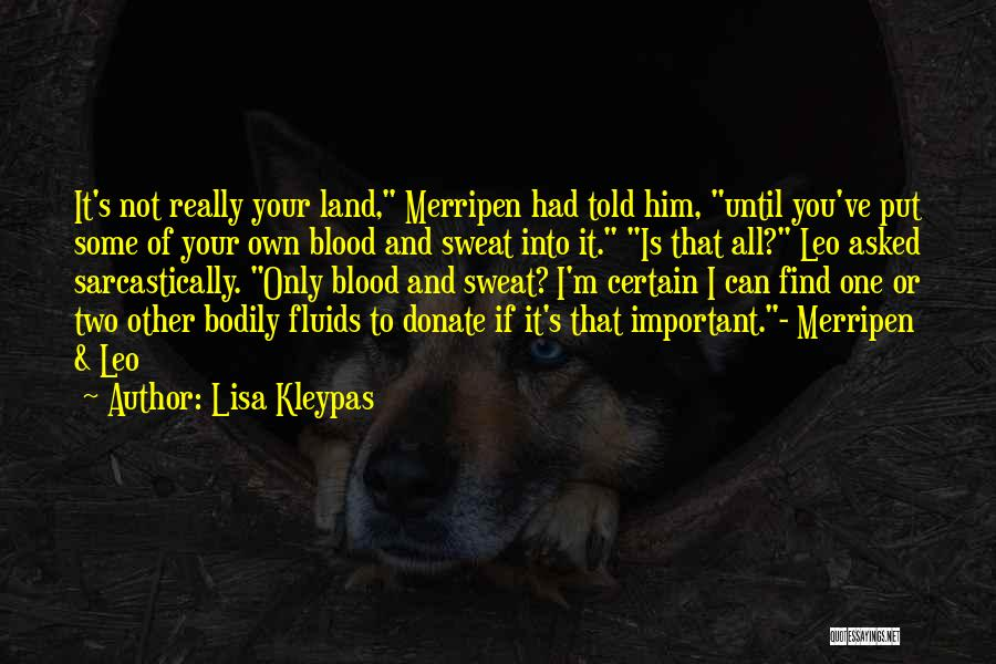 Let's Donate Quotes By Lisa Kleypas