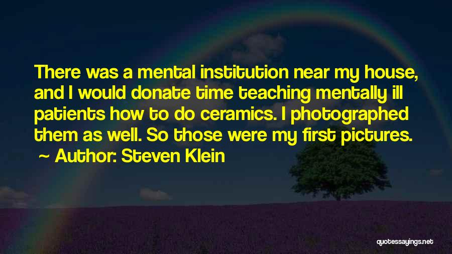 Let's Donate Quotes By Steven Klein