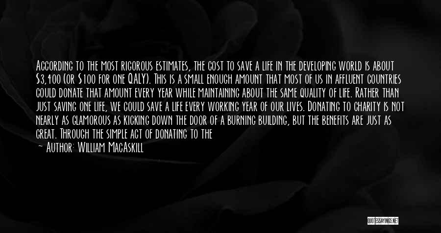 Let's Donate Quotes By William MacAskill
