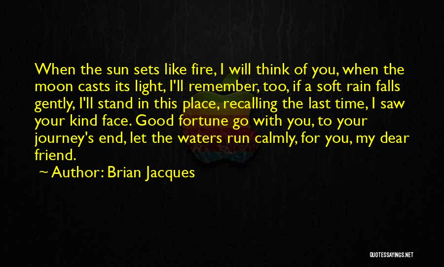 Let's End This Quotes By Brian Jacques
