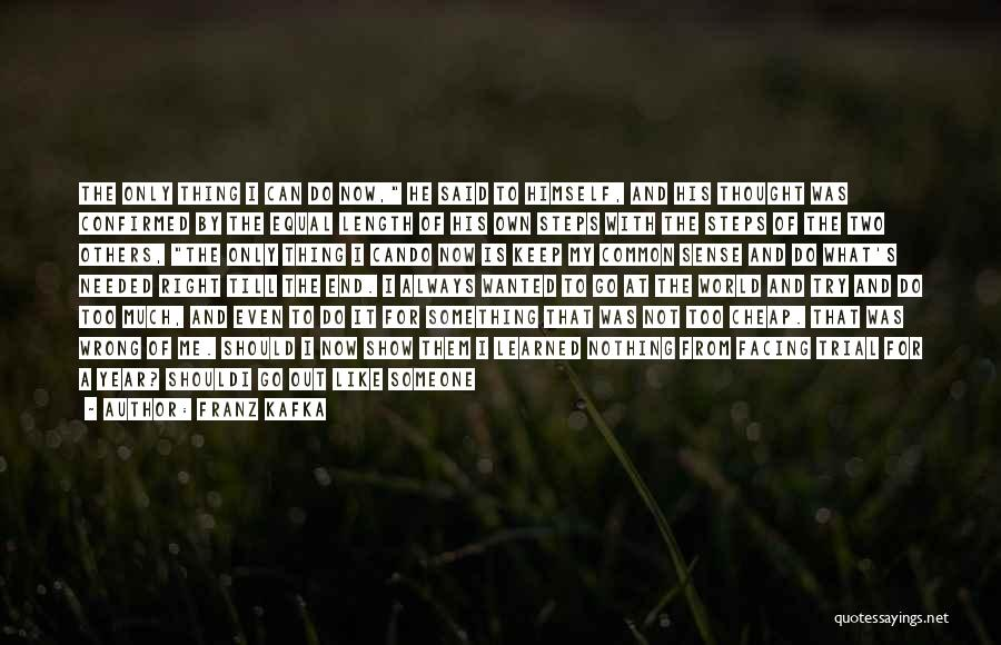 Let's End This Quotes By Franz Kafka