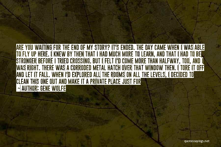 Let's End This Quotes By Gene Wolfe