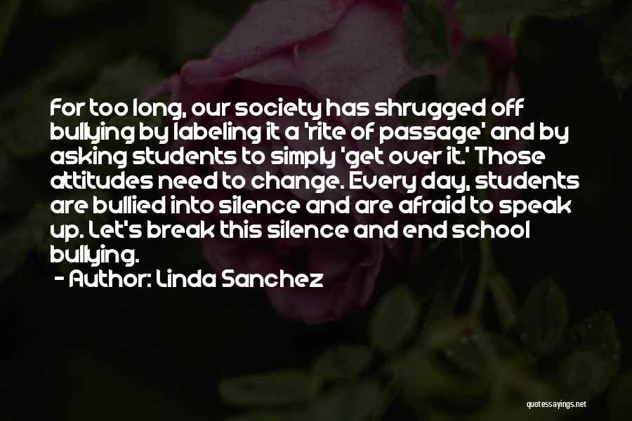 Let's End This Quotes By Linda Sanchez