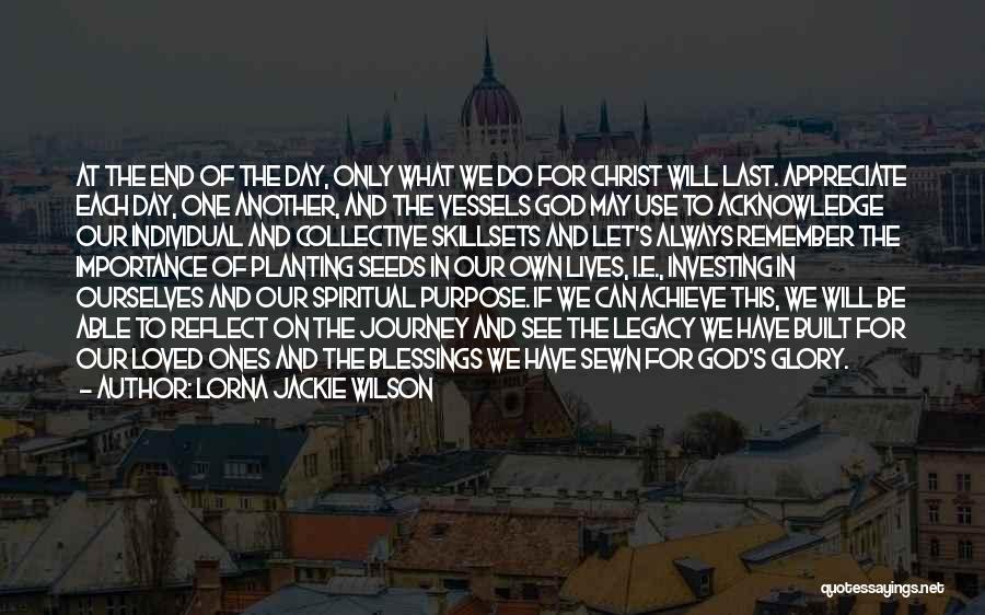 Let's End This Quotes By Lorna Jackie Wilson