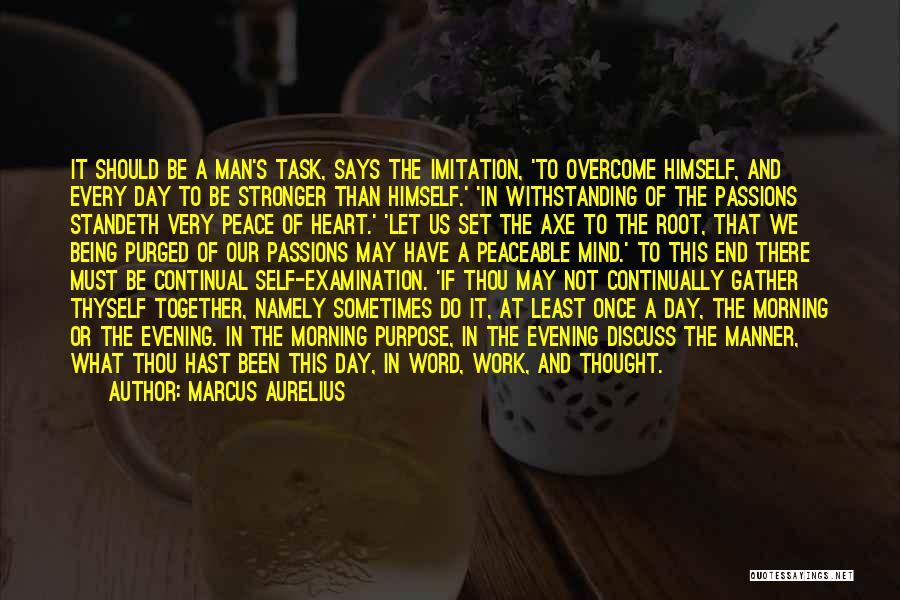 Let's End This Quotes By Marcus Aurelius