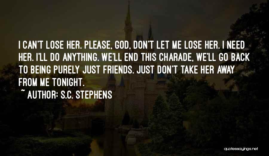Let's End This Quotes By S.C. Stephens
