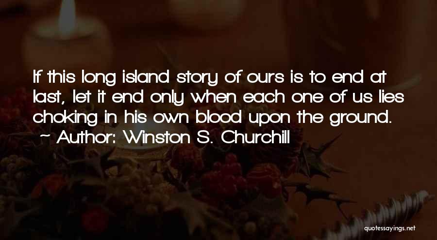 Let's End This Quotes By Winston S. Churchill