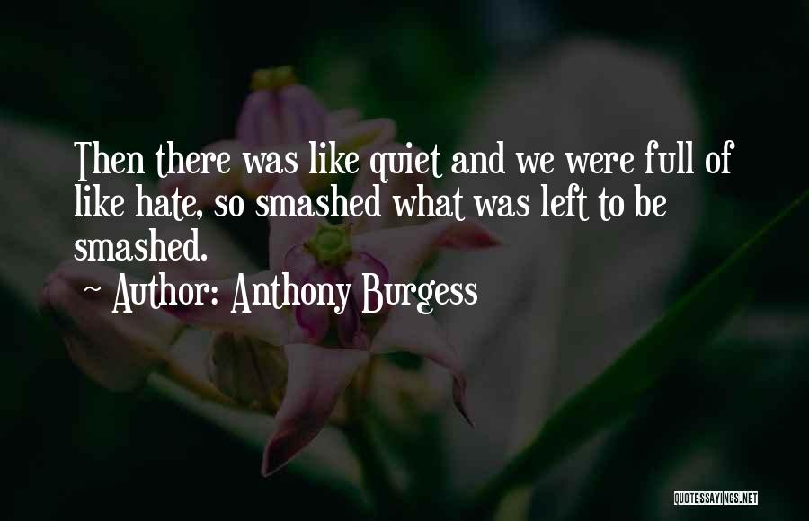 Let's Get Smashed Quotes By Anthony Burgess