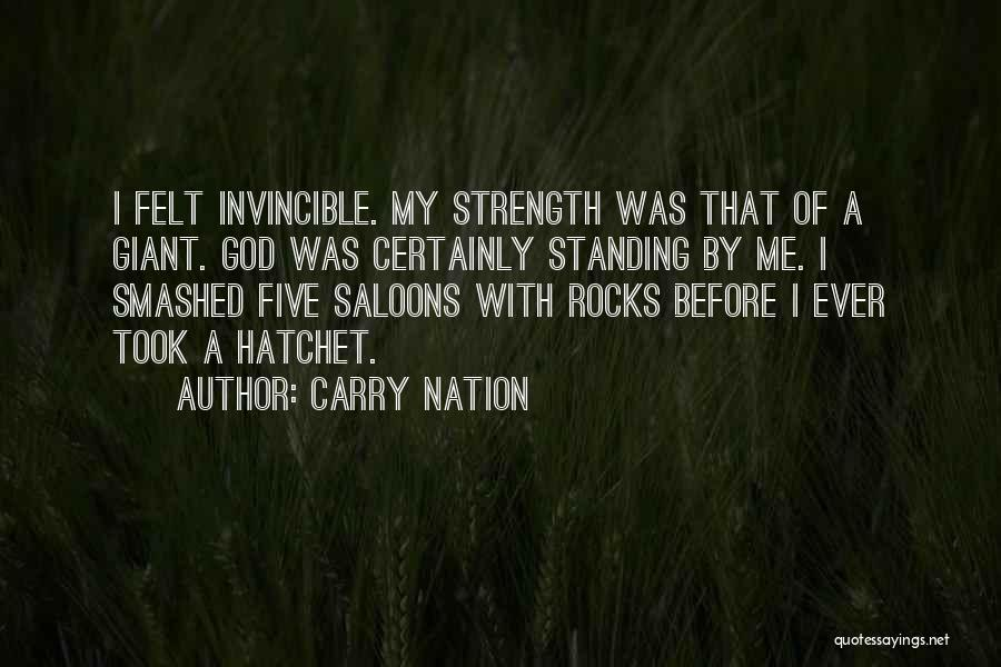 Let's Get Smashed Quotes By Carry Nation