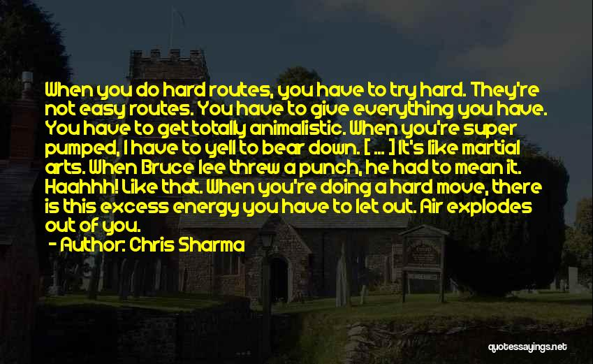 Let's Give It A Try Quotes By Chris Sharma