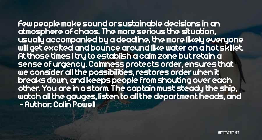 Let's Give It A Try Quotes By Colin Powell