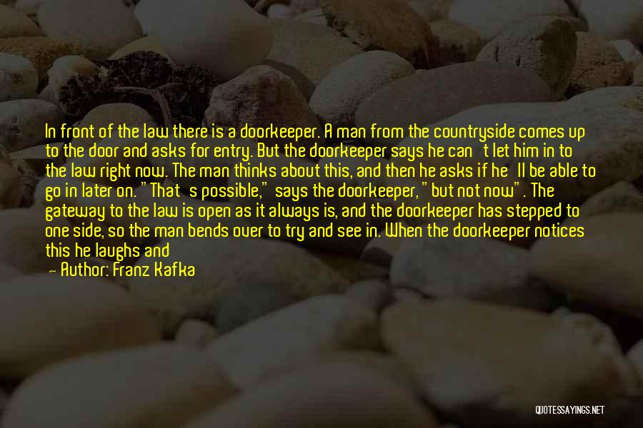 Let's Give It A Try Quotes By Franz Kafka