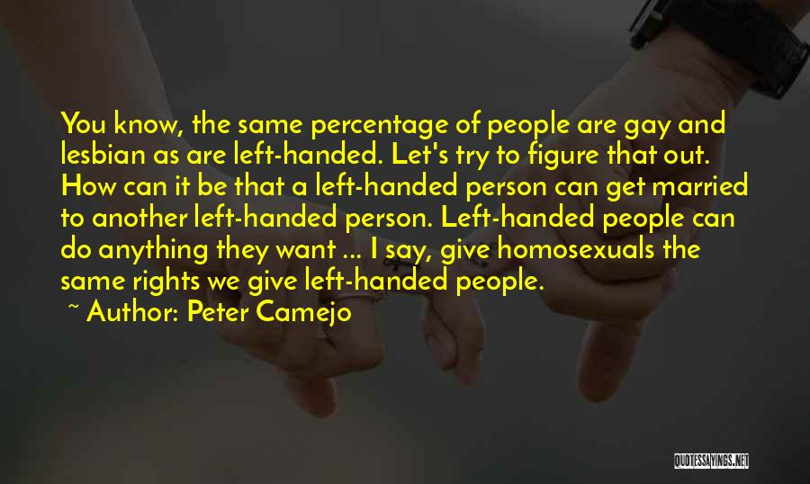 Let's Give It A Try Quotes By Peter Camejo